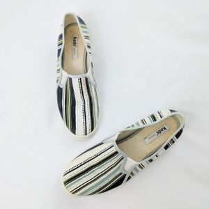 Keds Stripe and Spotted Slip On Shoes